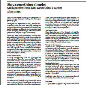 Sing Something Simple